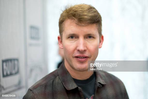 """Musician James Blunt attends Build Series to discuss his new album """"The Afterlove"""" at Build Studio on March 1, 2017 in New York City."""