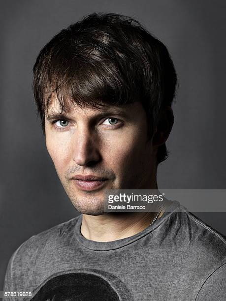 Musician James Blunt is photographed for Self Assignment in 2011