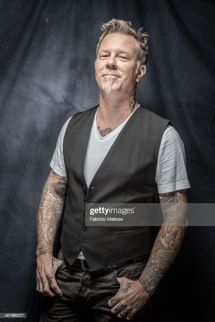 musician james hetfield is photographed for the hollywood reporter news photo getty images. Black Bedroom Furniture Sets. Home Design Ideas