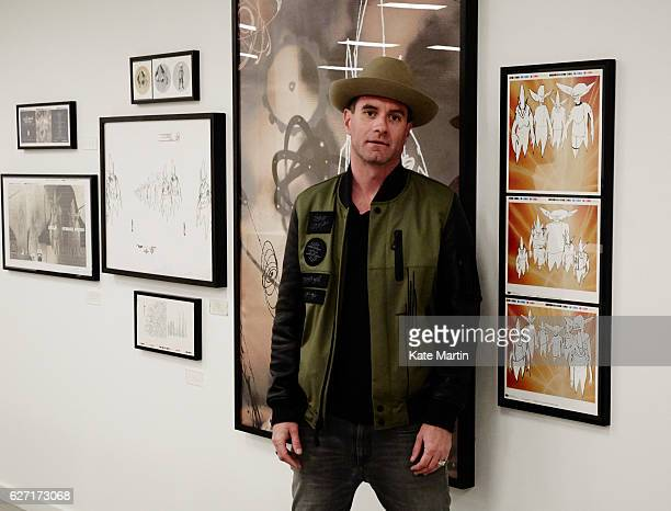 Musician James Lavelle is photographed on November 19 2014 in London England