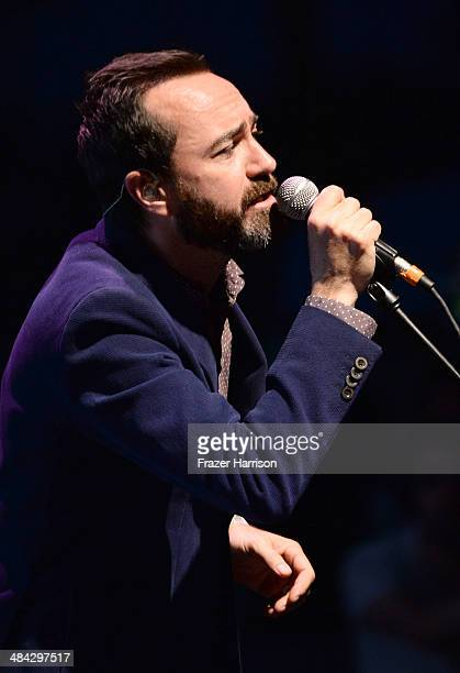 Musician James Mercer of Broken Bells performs onstage during day 1 of the 2014 Coachella Valley Music Arts Festival at the Empire Polo Club on April...