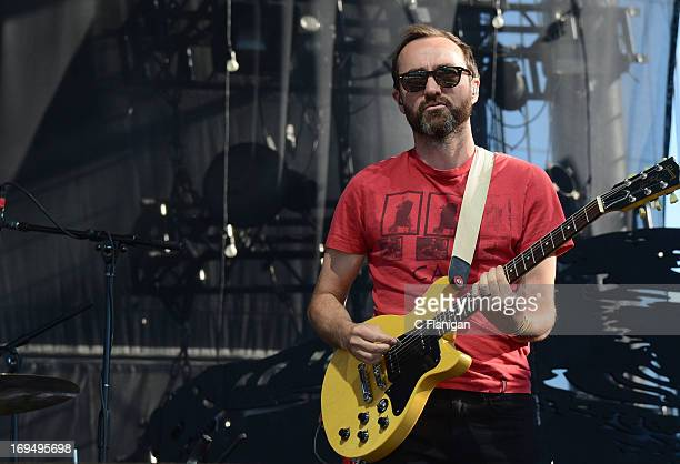 Musician James Mercer of The Shins performs during the 2013 Bottle Rock Music Festival on May 10 2013 in Napa California