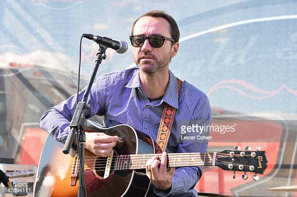 Musician James Mercer of The Shins performs onstage at Ford Escape lounge and gifting suite held at the KROQ House during Coachella on April 14 2012...