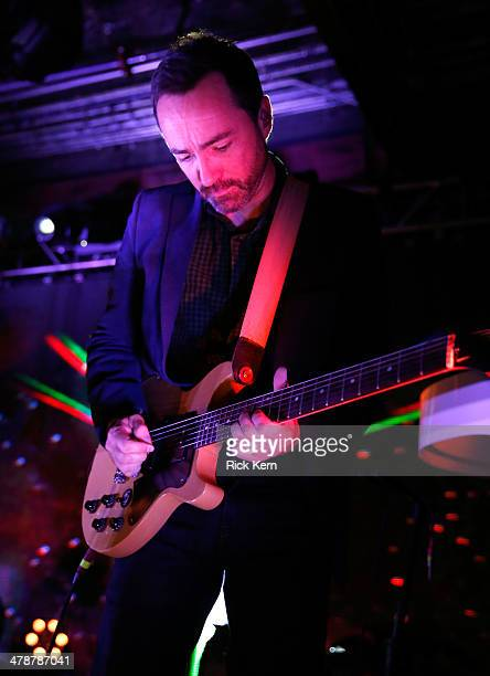 Musician James Mercer performs onstage as Samsung Galaxy presents Broken Bells at SXSW on March 14 2014 in Austin Texas