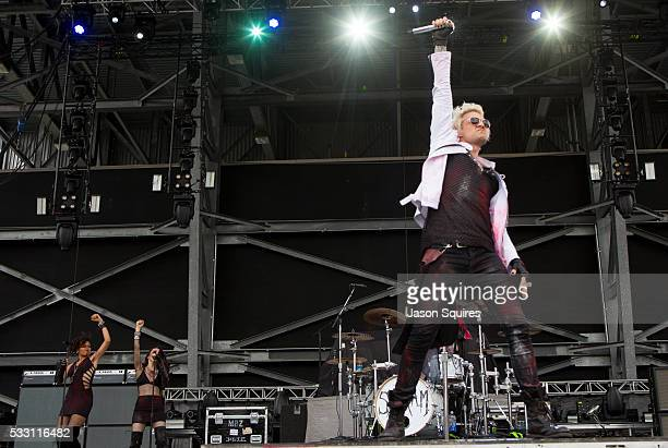 Musician James Michael of SixxAM performs at MAPFRE Stadium on May 20 2016 in Columbus Ohio