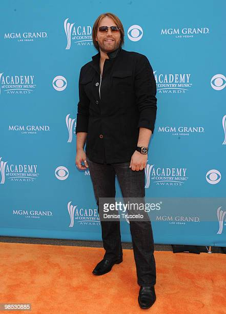 Musician James Otto arrives for the 45th Annual Academy of Country Music Awards at the MGM Grand Garden Arena on April 18 2010 in Las Vegas Nevada