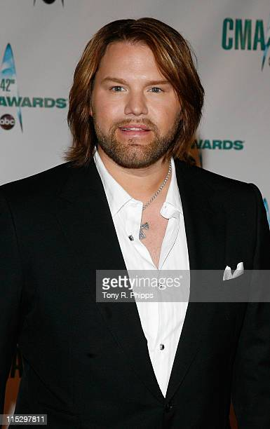 Musician James Otto attends the 42nd Annual CMA Awards at the Sommet Center on November 12 2008 in Nashville Tennessee