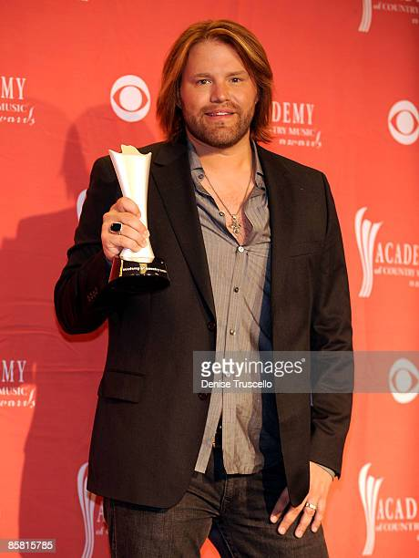 Musician James Otto poses in the press room during the 44th annual Academy Of Country Music Awards held at the MGM Grand on April 5 2009 in Las Vegas...