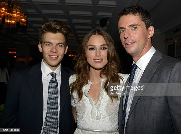 Musician James Righton actress Keira Knightley and actor Matthew Goode attend The Grey Goose Party for The Weinstein Company and Elevation Pictures'...