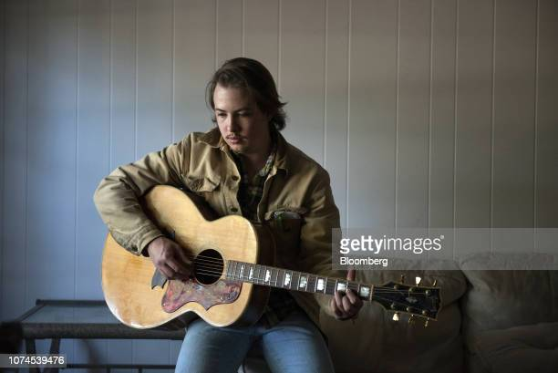 Musician James Steinle sits for a photograph in Austin Texas US on Thursday Dec 20 2018 Apple Inc announced this month it's opening new offices in...