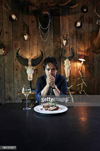 Musician Jamie Cullum is photographed for the Observer on July 8 2013 in London England