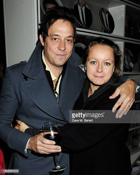 Musician Jamie Hince and Samantha Morton attend a screening of The Kills' new music video 'The Last Goodbye' directed by actress Samantha Morton in...