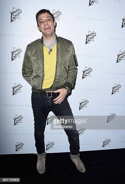 Musician Jamie Hince attends Stella McCartney Autumn 2016 Presentation at Amoeba Music on January 12 2016 in Los Angeles California