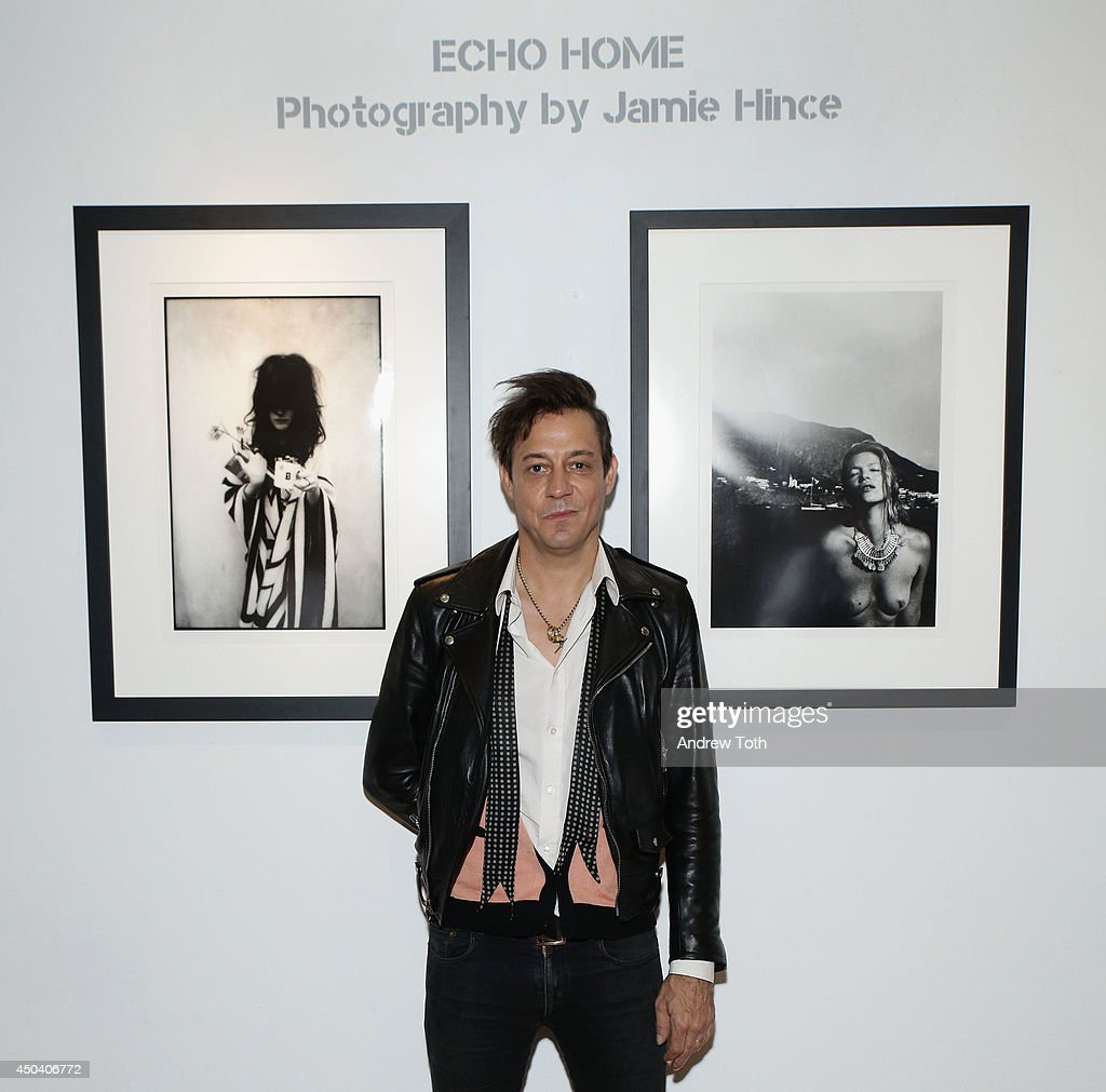 Musician Jamie Hince of band The Kills attends Jamie Hince's 'Echo Home' Exhibition Opening at Morrison Hotel Gallery on June 10, 2014 in New York City.