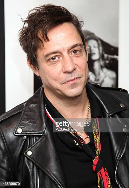 Musician Jamie Hince of The Kills attends the reception celebrating the book launch for 'Echo Home' by Jamie Hince of The Kills at Morrison Hotel...