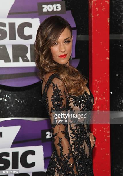 Musician Jana Kramer attends the 2013 CMT Music awards at the Bridgestone Arena on June 5 2013 in Nashville Tennessee