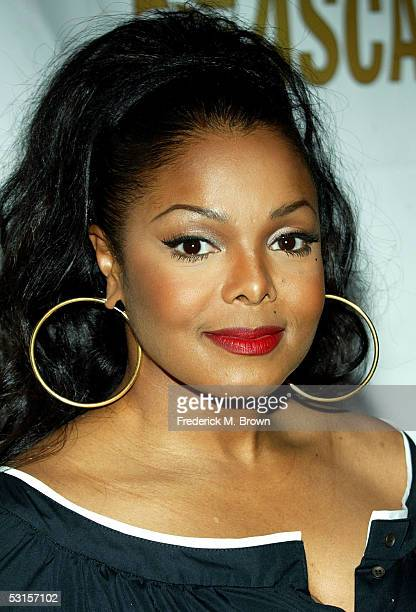 Musician Janet Jackson arrives to ASCAP's 18th Annual Rhythm and Soul Music Awards Gala at the Beverly Hills Hilton on June 27 2005 in Beverly Hills...