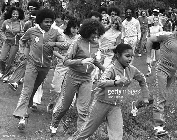 Musician Janet Jackson attends First Annual Rock and Roll Celebrity Sports Classic on March 10, 1977 at the University of California in Irvine,...