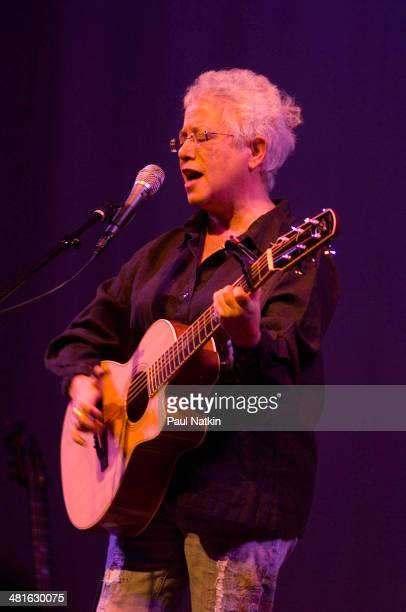 Musician Janis Ian performs at the Old Town School of Folk Music Chicago Illinois August 8 2008