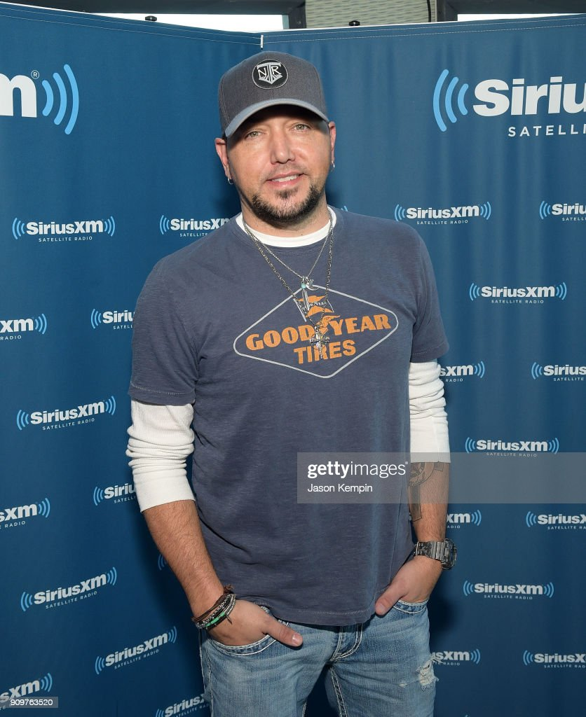 Musician Jason Aldean visits 'The Highway' at SiriusXM Studios on January 24, 2018 in Nashville, Tennessee.