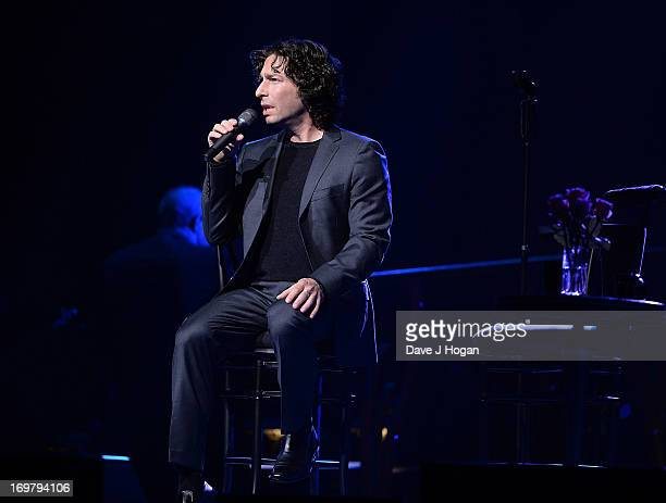 Musician Jason Gould performs on stage in concert at O2 Arena on June 1 2013 in London England