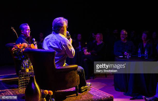 Musician Jason Isbell and David Macias during the GRAMMY Up Close Personal with Jason Isbell and David Macias at Old Town School of Folk Music on...