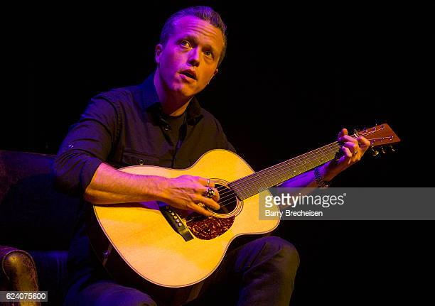 Musician Jason Isbell during the GRAMMY Up Close Personal with Jason Isbell and David Macias at Old Town School of Folk Music on November 17 2016 in...