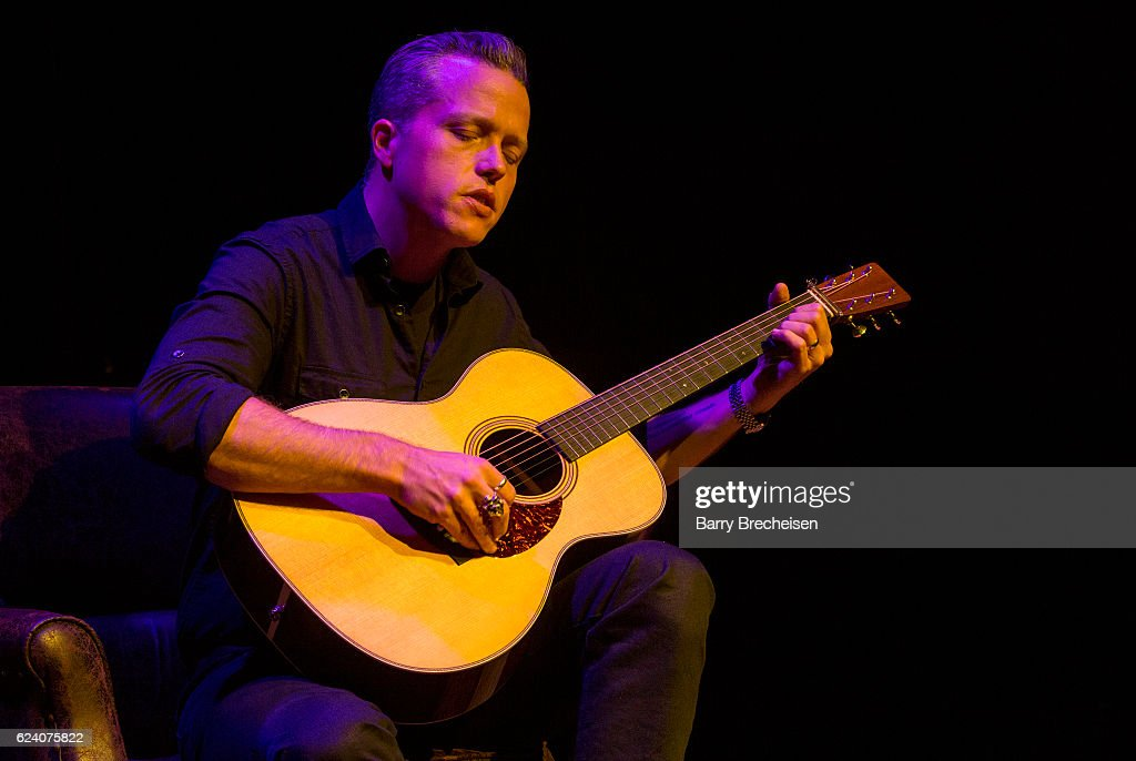 Musician Jason Isbell during the GRAMMY Up Close & Personal with Jason Isbell and David Macias at Old Town School of Folk Music on November 17, 2016 in Chicago, Illinois.