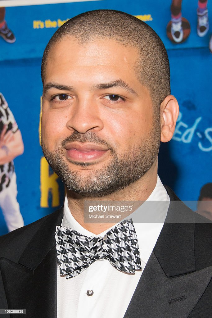 Musician Jason Moran attends The Museum of Modern Art's Jazz Interlude Gala at Museum of Modern Art on December 12, 2012 in New York City.