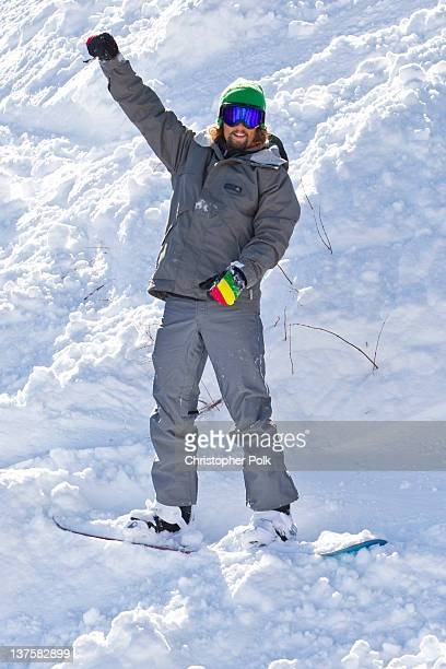 Musician Jason Mraz at the Burton Lounge at Park City Mountain Resort on January 22 2012 in Park City Utah