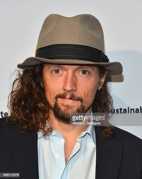Musician Jason Mraz attends the UCLA Institute Of The Environment And Sustainability's 2nd Annual Evening Of Environmental Excellence on March 5 2013...