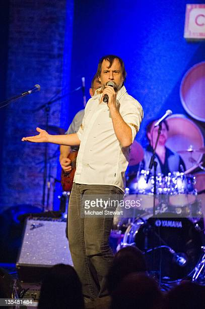 Musician Jason Paige of Blood Sweat Tears performs at the City Winery on December 10 2011 in New York City