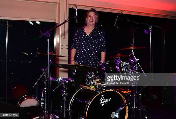 Musician Jason Starkey performs during the Teen Cancer America Fundraiser hosted by Darren Strowger Roger Daltrey and Rebecca Rothstein on October 28...