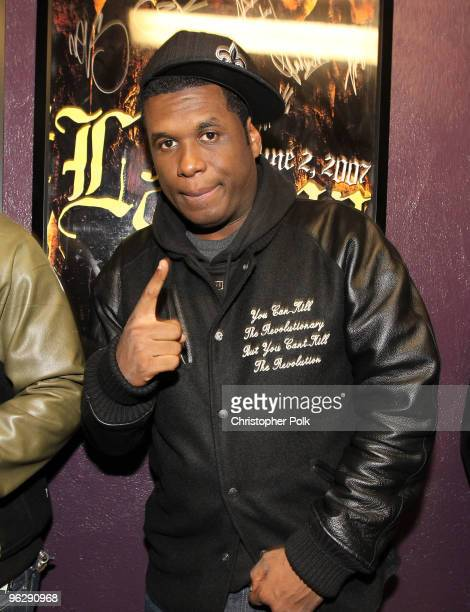 Musician Jay Electronica attends the 6th Annual Roots Jam Session at Key Club on January 30 2010 in West Hollywood California