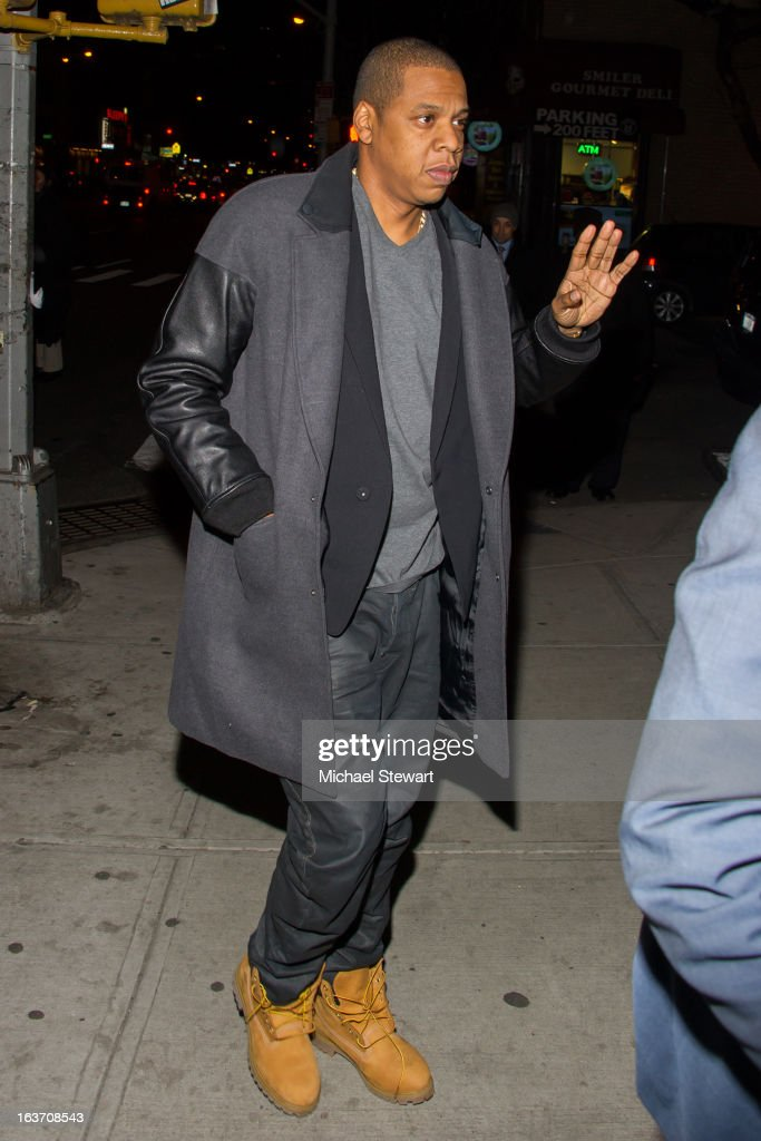 Musician Jay-Z attends Timbaland's Birthday Celebration at Southern Hospitality on March 14, 2013 in New York City.