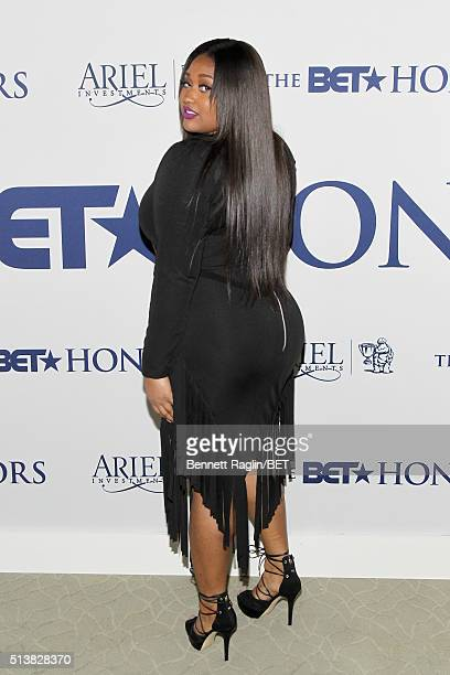 Musician Jazmine Sullivan attends the BET Honors 2016 Debra Lee's Honoree Reception on March 4 2016 in Washington DC