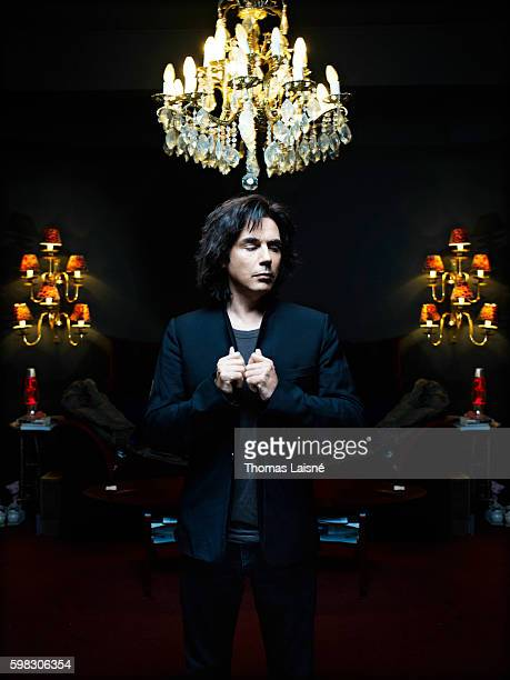 Musician JeanMichel Jarre is photographed for Self Assignment on November 9 2009 in Paris France