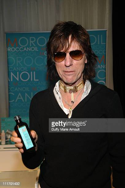 Musician Jeff Beck attends the 52nd Annual GRAMMY Awards GRAMMY Gift Lounge Day 3 held at the at Staples Center on January 30 2010 in Los Angeles...
