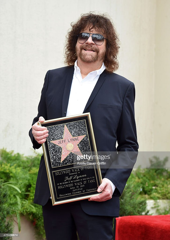 Rock Artist Jeff Lynne Honored With Star On The Hollywood Walk Of Fame