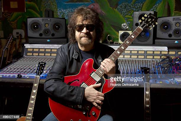 Musician Jeff Lynne of Electric Light Orchestra is photographed for Los Angeles Times on October 20 2015 in Los Angeles California PUBLISHED IMAGE...