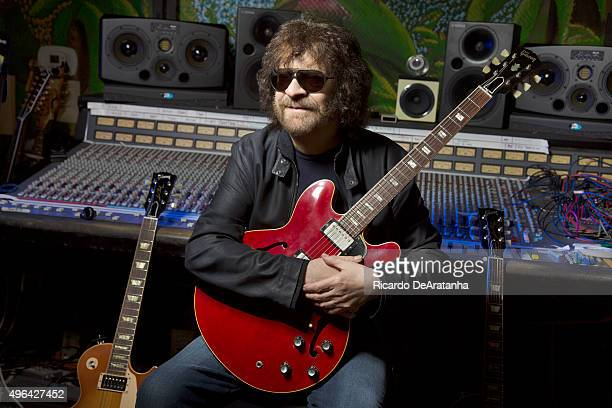 Musician Jeff Lynne of Electric Light Orchestra is photographed for Los Angeles Times on October 20, 2015 in Los Angeles, California. PUBLISHED...