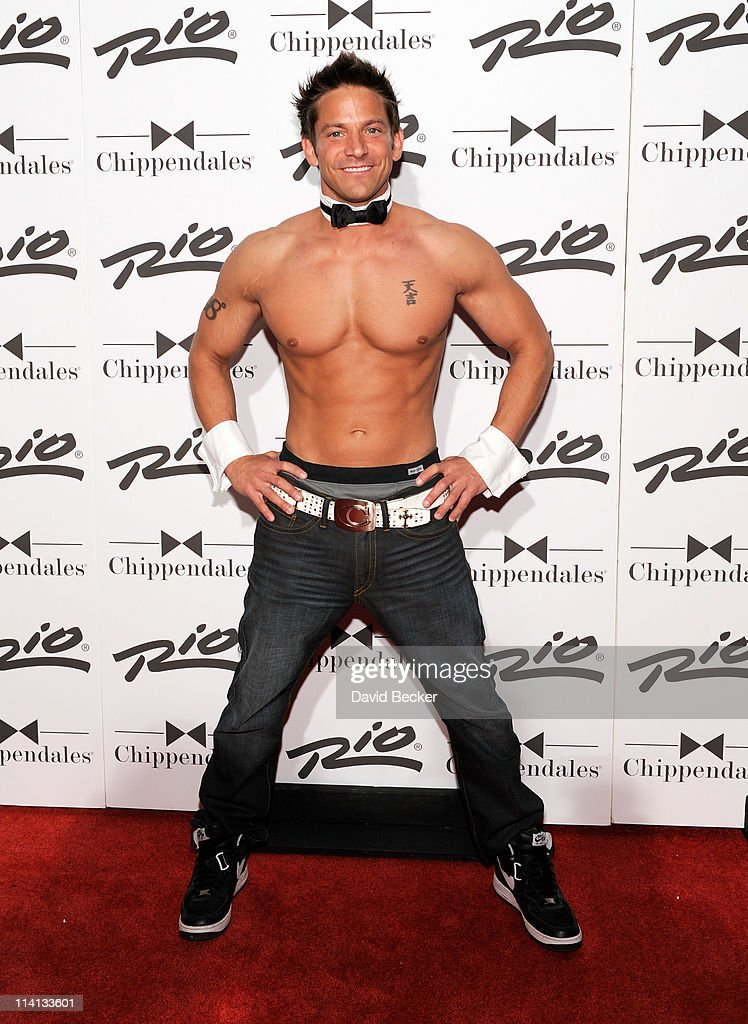 Opening Night Performance With Jeff Timmons From 98 Degrees At Chippendales