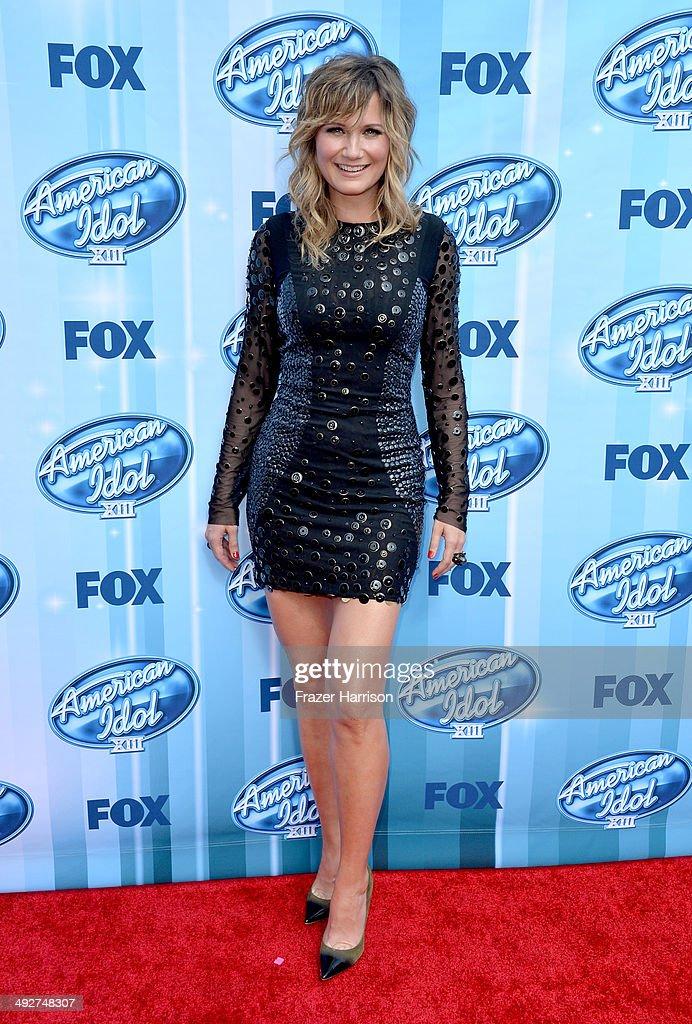 Musician Jennifer Nettles attends Fox's 'American Idol ...