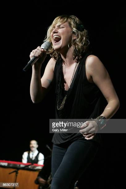 Musician Jennifer Nettles of Sugarland performs in concert at the Frank Erwin Center on April 30, 2009 in Austin, Texas.