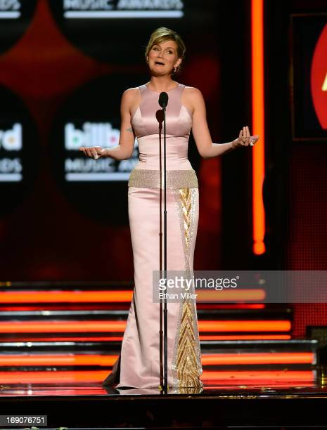 Musician Jennifer Nettless speaks onstage during the 2013 Billboard Music Awards at the MGM Grand Garden Arena on May 19 2013 in Las Vegas Nevada