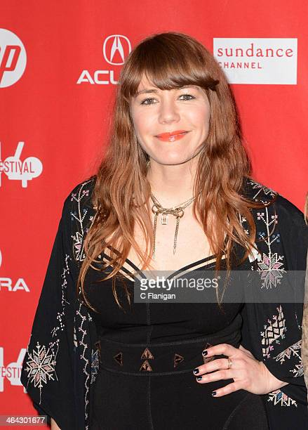 Musician Jenny Lewis attends the premiere of 'Song One' at the Eccles Center Theatre during the 2014 Sundance Film Festival on January 20 2014 in...