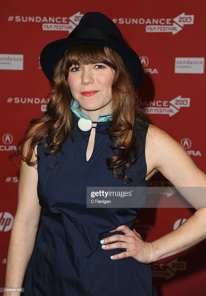 Musician Jenny Lewis attends the 'Very Good Girls' premiere at Eccles Center Theatre during the 2013 Sundance Film Festival on January 22, 2013 in Park City, Utah.