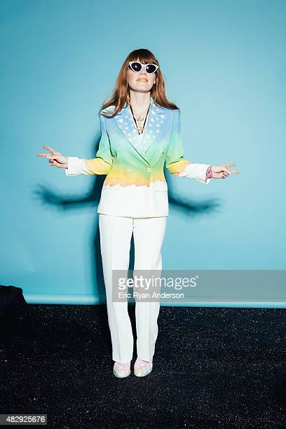 Musician Jenny Lewis is photographed for Billboard Magazine on June 7 2015 in New York City