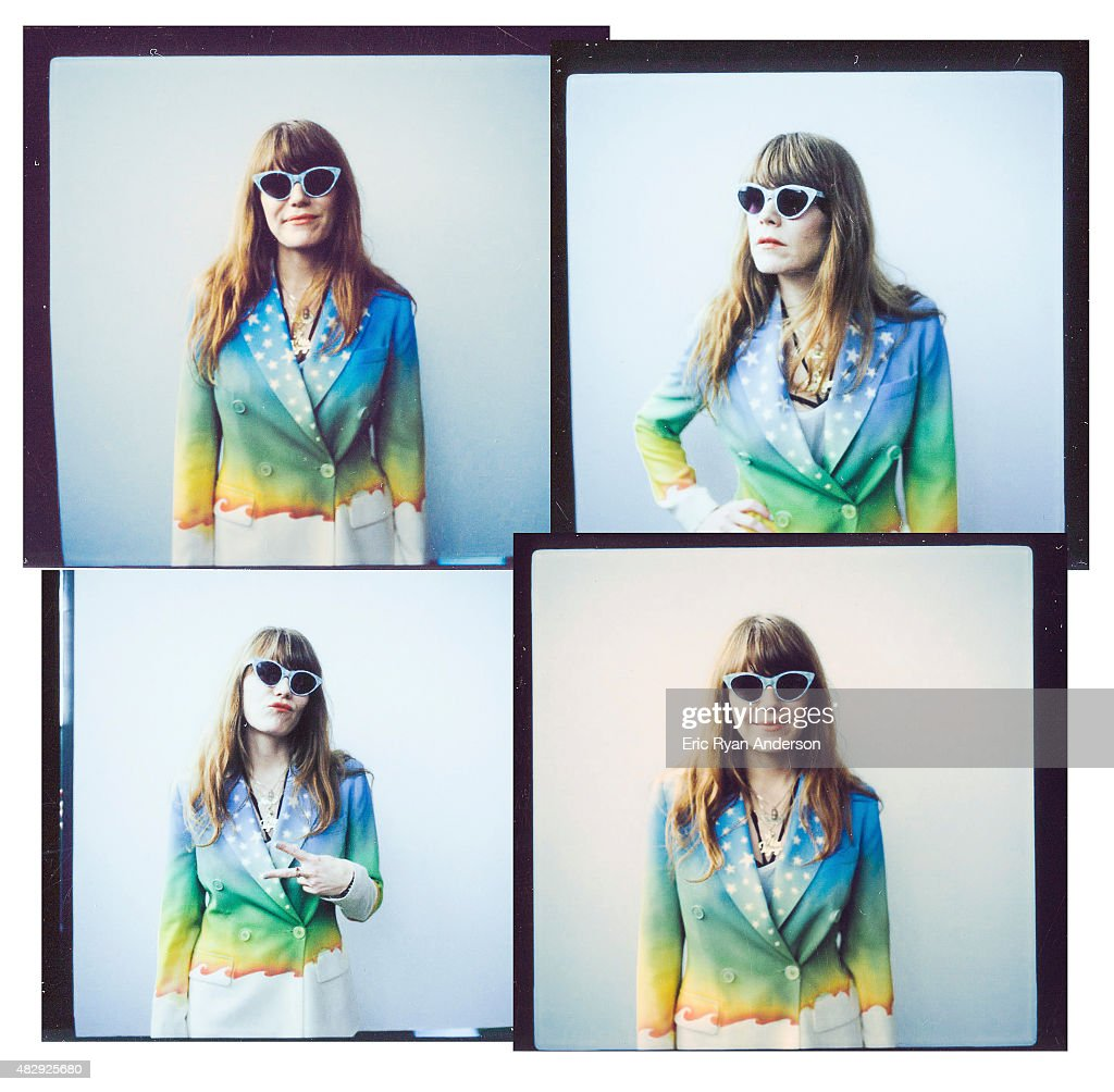 Musician Jenny Lewis is photographed on polaroid film for Billboard Magazine on June 7, 2015 in New York City.