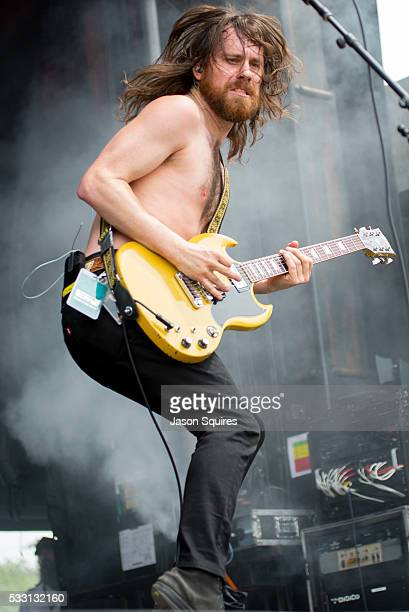 Musician Jeremy Widerman of Monster Truck performs at MAPFRE Stadium on May 20 2016 in Columbus Ohio